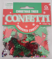 Christmas Trees Table Confetti